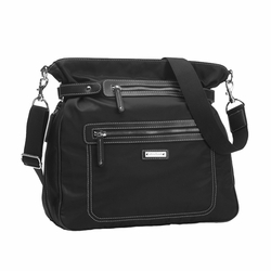 Storksak Claire Nylon Convertable Backpack Diaper Bag - Black