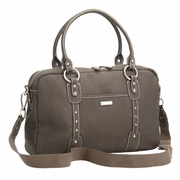 Storksak Elizabeth Leather Diaper Bag - Walnut