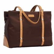 TEMPORARILY OUT OF STOCK Storksak Gigi Shoulder Diaper Bag - Chocolate