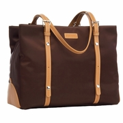 Storksak Gigi Shoulder Diaper Bag - Chocolate