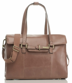 SOLD OUT Storksak Helena Leather Diaper Bag - Rose