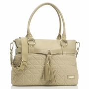 SOLD OUT Storksak Isabella Nylon Diaper Bag - Sand