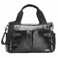 Storksak Kate Diaper Bag - Charcoal Patent Leather