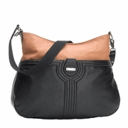 SOLD OUT Storksak Nina Diaper Bag - Tan/Black