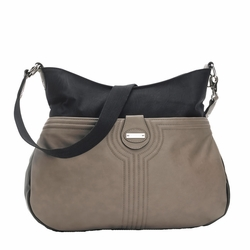 SOLD OUT Storksak Nina Diaper Bag - Taupe/Black
