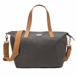 Storksak Noa Coated Canvas Diaper Bag Set - Grey