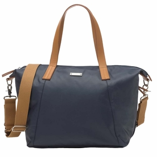 Storksak Noa Coated Canvas Diaper Bag Set - Navy