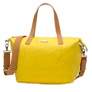 Storksak Noa Coated Canvas Diaper Bag Set - Yellow