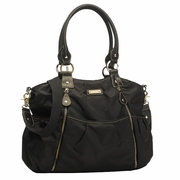 TEMPORARILY OUT OF STOCK Storksak Olivia Diaper Bag - Black