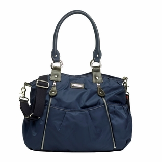 Storksak Olivia Nylon Diaper Bag - Blue