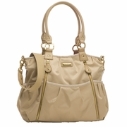 TEMPORARILY OUT OF STOCK Storksak Olivia Diaper Bag - Champagne