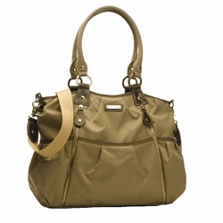 TEMPORARILY OUT OF STOCK Storksak Olivia Diaper Bag - Moss