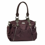 Storksak Olivia Nylon Diaper Bag - Mulberry