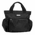 Storksak Organizer System SOS Small Nylon Diaper Bag - Black