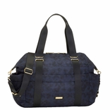 Storksak Sandy Nylon Diaper Bag Set - Navy Print