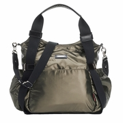 TEMPORARILY OUT OF STOCK Storksak Tania Bee Diaper Bag - Graphite