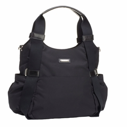 TEMPORARILY OUT OF STOCK Storksak Tania Bee Hobo Diaper Bag - Black
