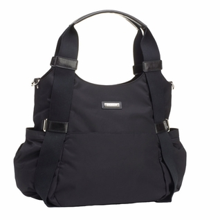 Storksak Tania Bee Hobo Diaper Bag - Black