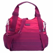 Storksak Tania Bee Hobo Diaper Bag - Gradient Magenta