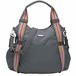 SOLD OUT Storksak Tania Bee Hobo Diaper Bag - Grey Multi