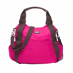 Storksak Tania Bee Hobo Diaper Bag - Neon Cherry