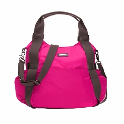 SOLD OUT  Storksak Tania Bee Hobo Diaper Bag - Neon Cherry
