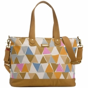 Storksak Tote Diaper Bag - Triangles