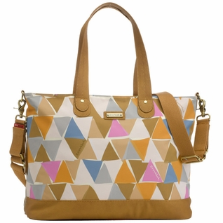 SOLD OUT Storksak Tote Diaper Bag - Triangles