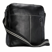 Storksak Unisex Jamie Diaper Bag - Black
