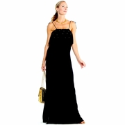 T-Bags Los Angeles Studded Maternity Maxi Dress - FINAL SALE