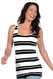 Tees By Tina Catalina Stripe Scoop Neck Tank Top