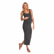 Tees By Tina Micro Stripe Tank Maxi Dress