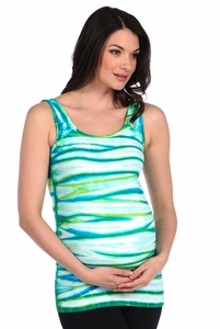 Tees By Tina Multi Tie Dye Tank Top