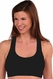 Tees By Tina Sorbtek Mesh Padded Sports Bra
