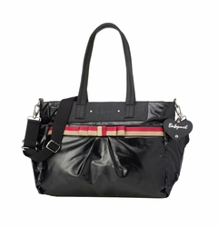 TEMPORARILY OUT OF STOCK Babymel Cara Tote Diaper Bag - Black Gloss