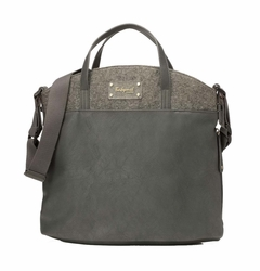 TEMPORARILY OUT OF STOCK Babymel Grace Tote Diaper Bag - Grey