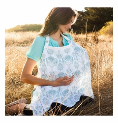 TEMPORARILY OUT OF STOCK Bebe au Lait Muslin Nursing Cover - Isla