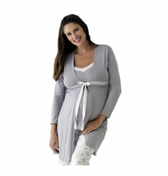 TEMPORARILY OUT OF STOCK Belabumbum Starlit Maternity Nursing Robe