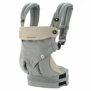 TEMPORARILY OUT OF STOCK Ergobaby Four Position 360 Baby Carrier - Grey/Taupe