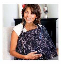 TEMPORARILY OUT OF STOCK Hooter Hiders Cotton Nursing Cover - Avignon