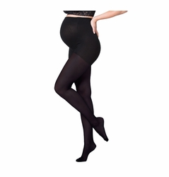 TEMPORARILY OUT OF STOCK Ingrid & Isabel Maternity Opaque Full Belly Tights