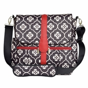 SOLD OUT  JJ Cole Collections Backpack Diaper Bag - Black Floret