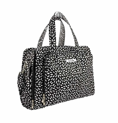 TEMPORARILY OUT OF STOCK Ju-Ju-Be Be Prepared Messenger/Tote Diaper Bag - Platinum Petals