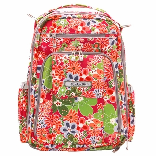 SOLD OUT Ju-Ju-Be  Be Right Back Backpack Style Diaper Bag - Perky Perennials