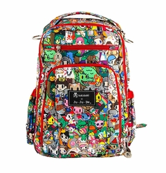 TEMPORARILY OUT OF STOCK Ju-Ju-Be Be Right Back Backpack Style Diaper Bag - Tokidoki Fairytella