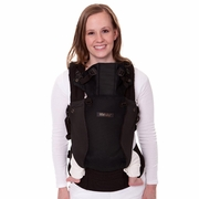 TEMPORARILY OUT OF STOCK Lillebaby Complete Airflow Baby Carrier - Black Mesh