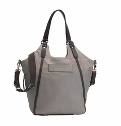 TEMPORARILY OUT OF STOCK Storksak UK Edition Ellena Diaper Bag - Twisted Taupe Leather