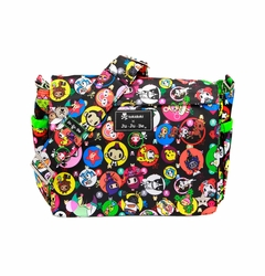 TEMPORARILY OUT OF STOKC Ju-Ju-Be Better Be Messenger Style Diaper Bag - Tokidoki Bubble Trouble