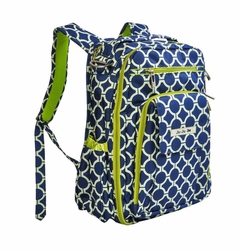 TEMPORARILY SOLD OUT Ju-Ju-Be Be Right Back Backpack Style Diaper Bag - Royal Envy