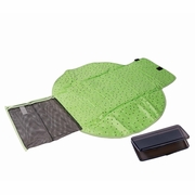 The First Years Deluxe Fold And Go Travel Diapering Kit - Green